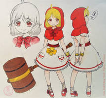 +Lil Red Riding Hood - Elphis+ by ushirin