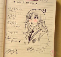 -+Blackie's notebook+- by ushirin
