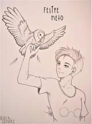 +Youtuber Felipe Neto+ by ushirin