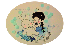 +Blue Friend: Sugar Soap+ by ushirin
