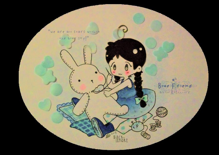 +Blue Friend: Sugar Soap+ by ushirin