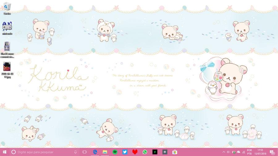 +Korila-chan desktop+ by ushirin