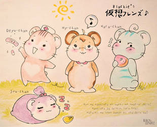 +Mah Virtual 'hamsters' Friendos+ by ushirin