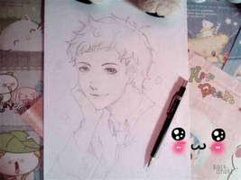 .:* JSM Airashidesu (doodle) *:. by ushirin