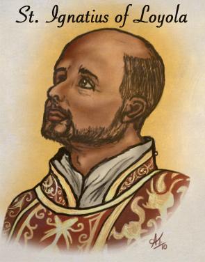 I love St. Ignatius of Loyala by ClockworkSky