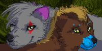 Double Icon Commish - Eclipse by ClockworkSky