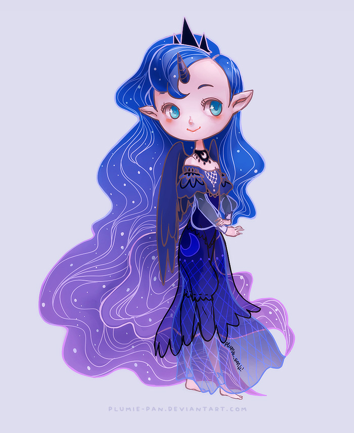 Princess Luna by plumie-pan
