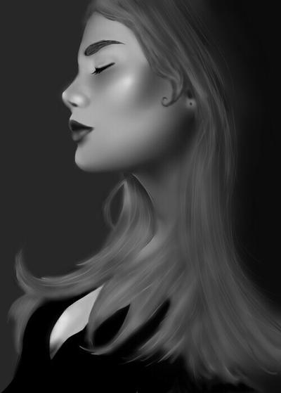 Woman in the Dark by RubyKiwi
