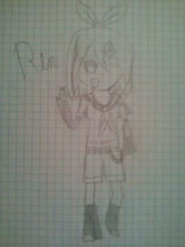 Rin Kagamine Sketch