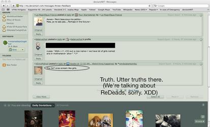 Screenshot of TRUTH.