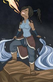 Korra The Avatar by RedWingedHummingBird