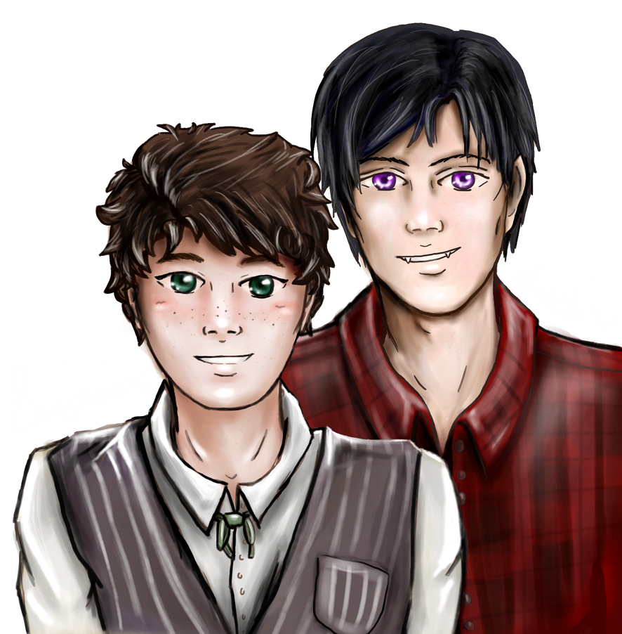 Benjamine and Austin - Contest Entry by Blacknight4711