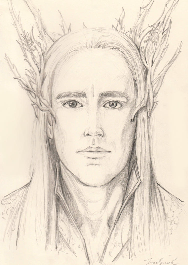 Thranduil by Blacknight4711