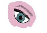 Eye doodle by FlickTheSwingMaster