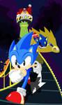 Sonic CD Contest Art