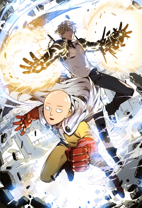 One punch man by empew on deviantart - Funny one punch man wallpaper ...