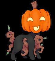 Reed #258 - Happy Pumpkin GC Flatsale by jessabelleanna