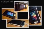 Ipod Touch Moleskine Case-Dock