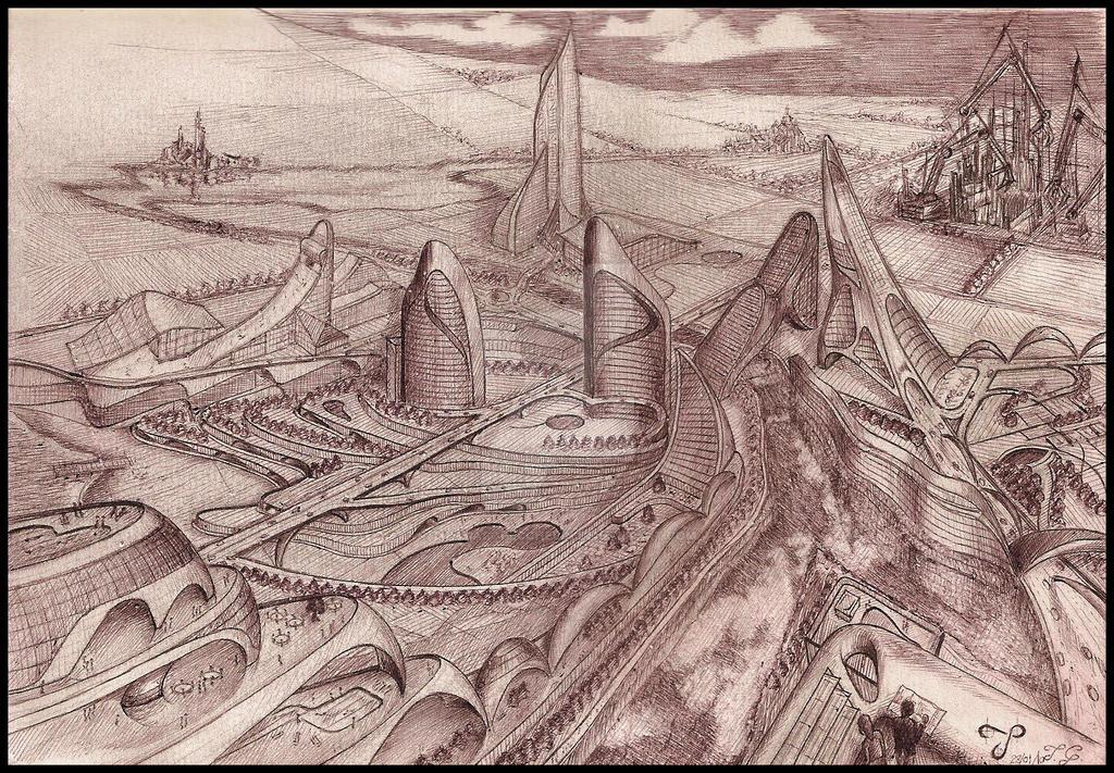 Concept City by tommasogecchelin
