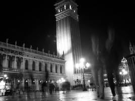 Venice by night by tommasogecchelin