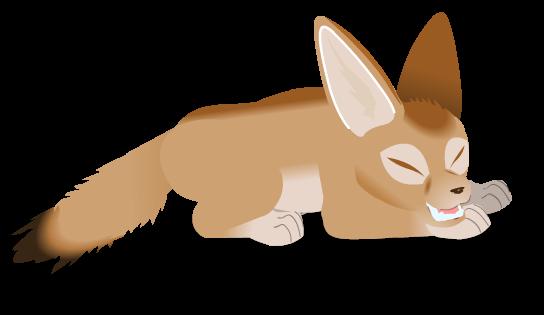 Fennec Fox by PurpleRat-YS