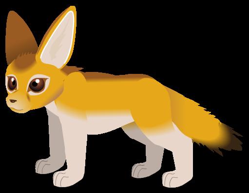 Fennec Fox b by PurpleRat-YS