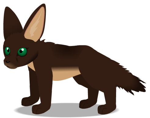 Fennec Fox c by PurpleRat-YS
