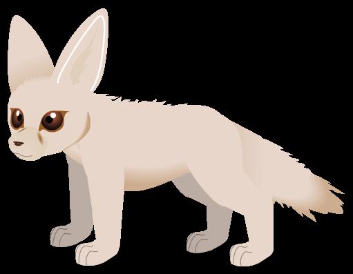 Fennec Fox e by PurpleRat-YS