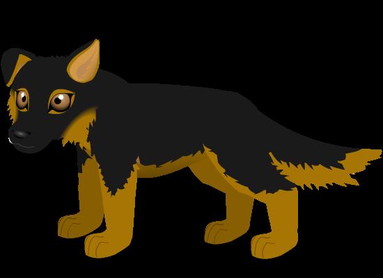 german shepherd b by PurpleRat-YS