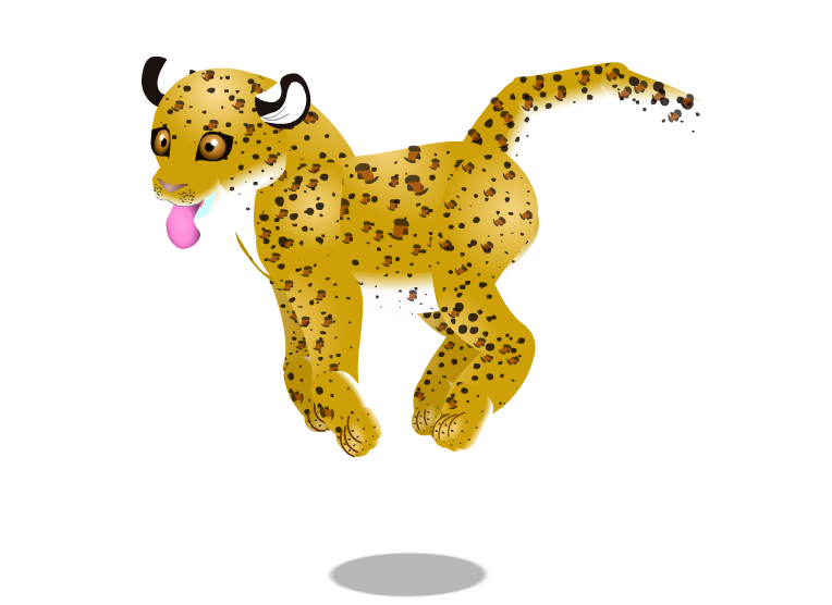 leopard cub by PurpleRat-YS