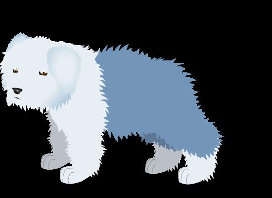old english sheepdog a by PurpleRat-YS