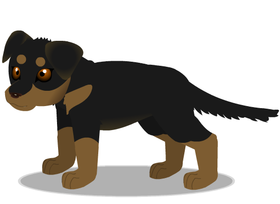 rottweiler b by PurpleRat-YS