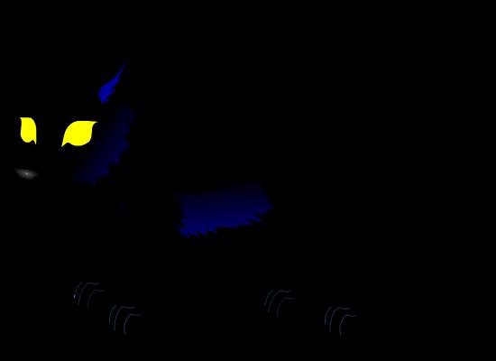 showdow wolf by PurpleRat-YS