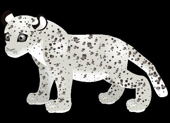 white leopard by PurpleRat-YS