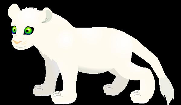 white lion by PurpleRat-YS