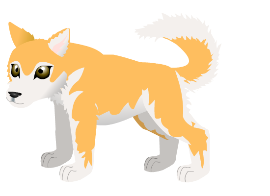 Husky pup D by PurpleRat-YS