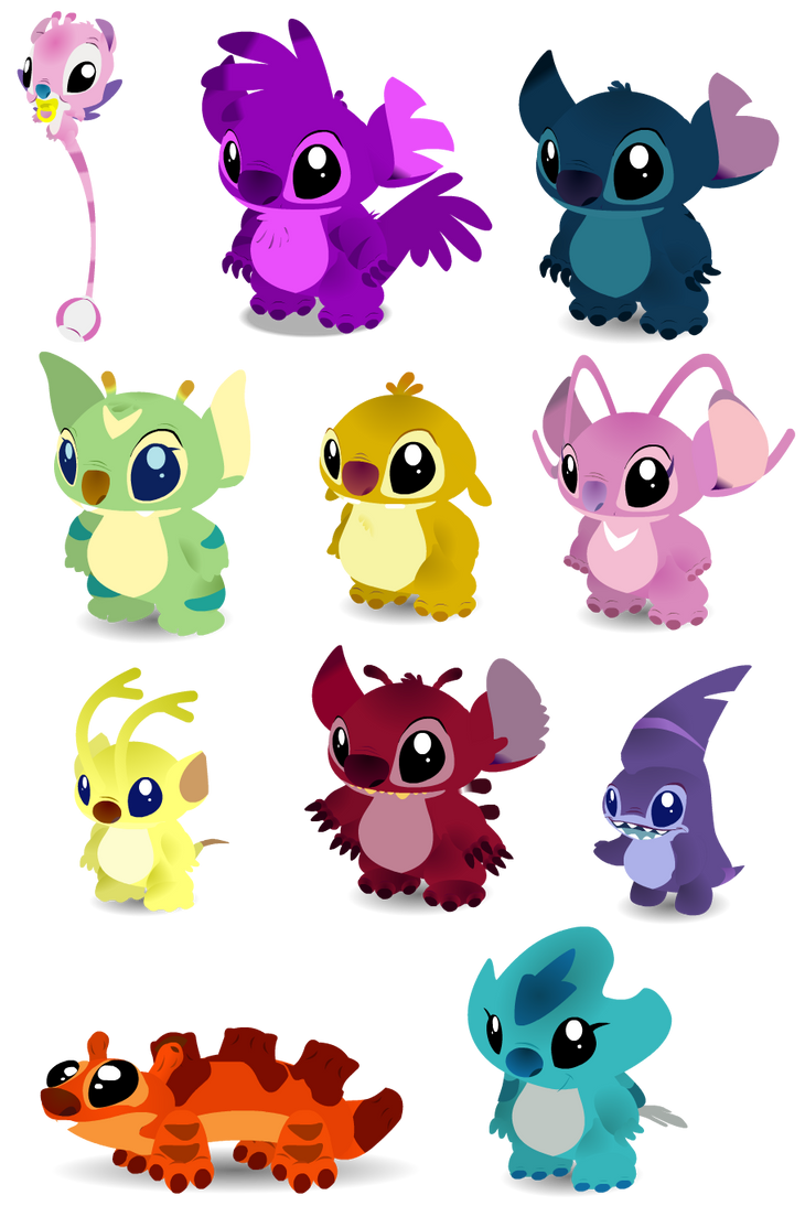 Baby Experiments by PurpleRat-YS