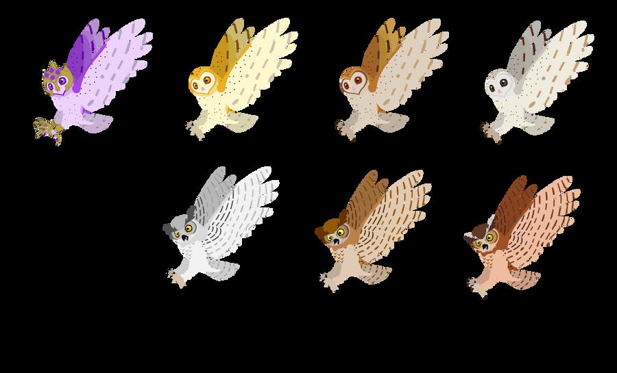 owls by PurpleRat-YS