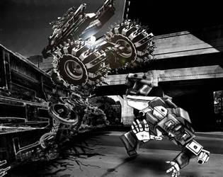 CrashingTrain copy by Koontah