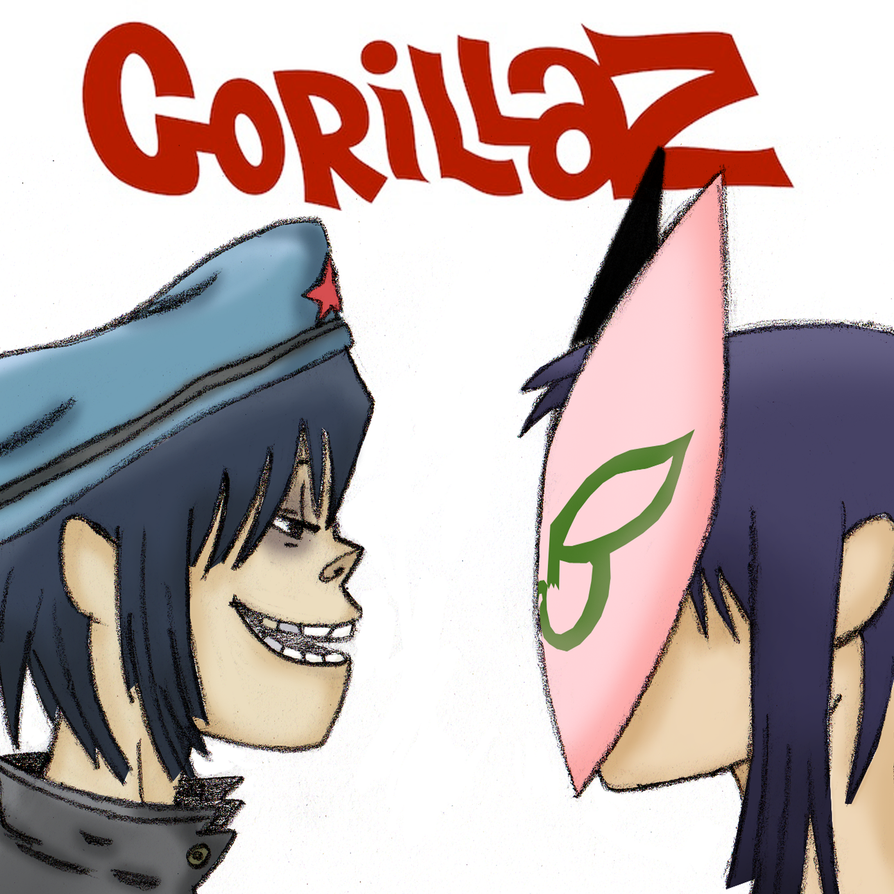Noodles Gorillaz by NoodleKyuzo
