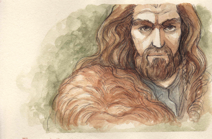 Thorin Oakenshield by citrus-slice