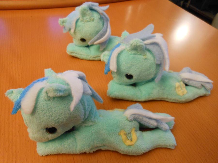 Mlp: FiM Lyra beanie plush by Tawny0wl
