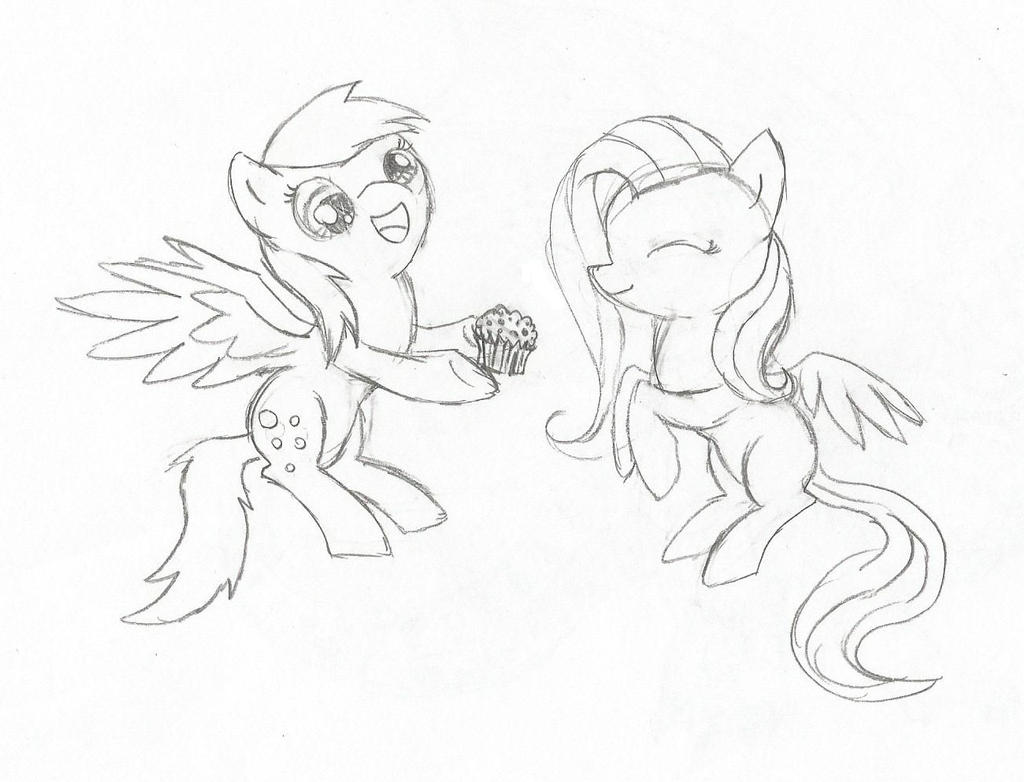 How To Draw Mlp Fim Fluttershy Mlp Fim Coloring Pages