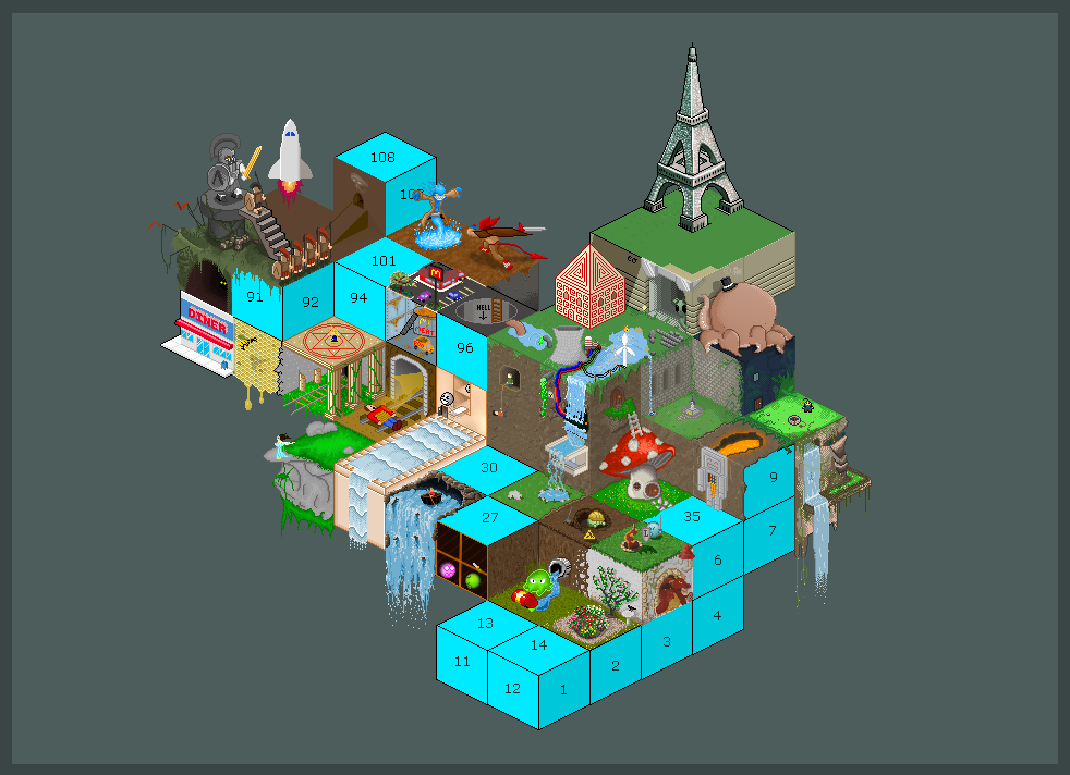 Isometric Grid Collaboration by carbon-12 on DeviantArt
