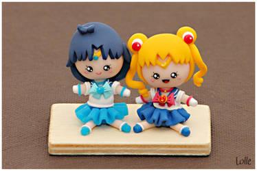 Fimo GASHAPON Sailor Moon