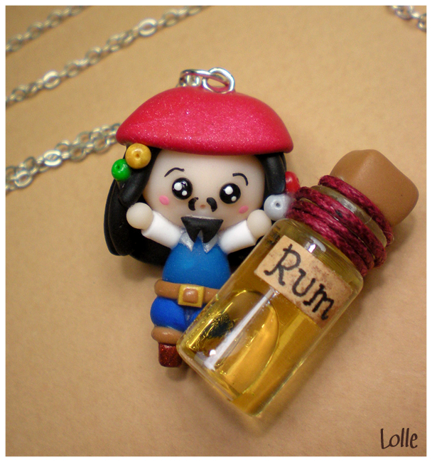 Fimo Jack Sparrow by LolleBijoux