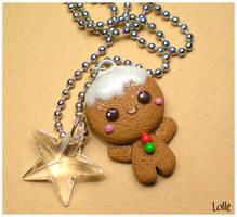 Fimo Gingerbread Man