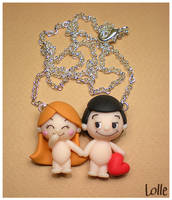 Fimo LOVE IS.. by LolleBijoux