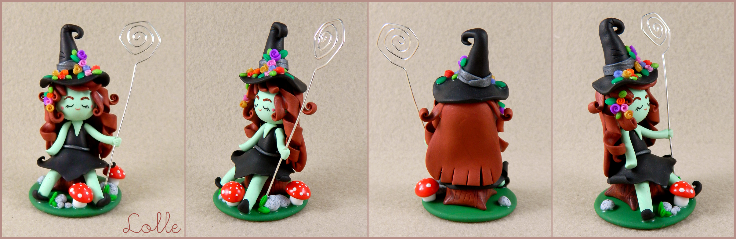 Fimo Witch by LolleBijoux
