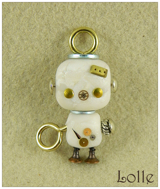 Clay L-Robot by LolleBijoux